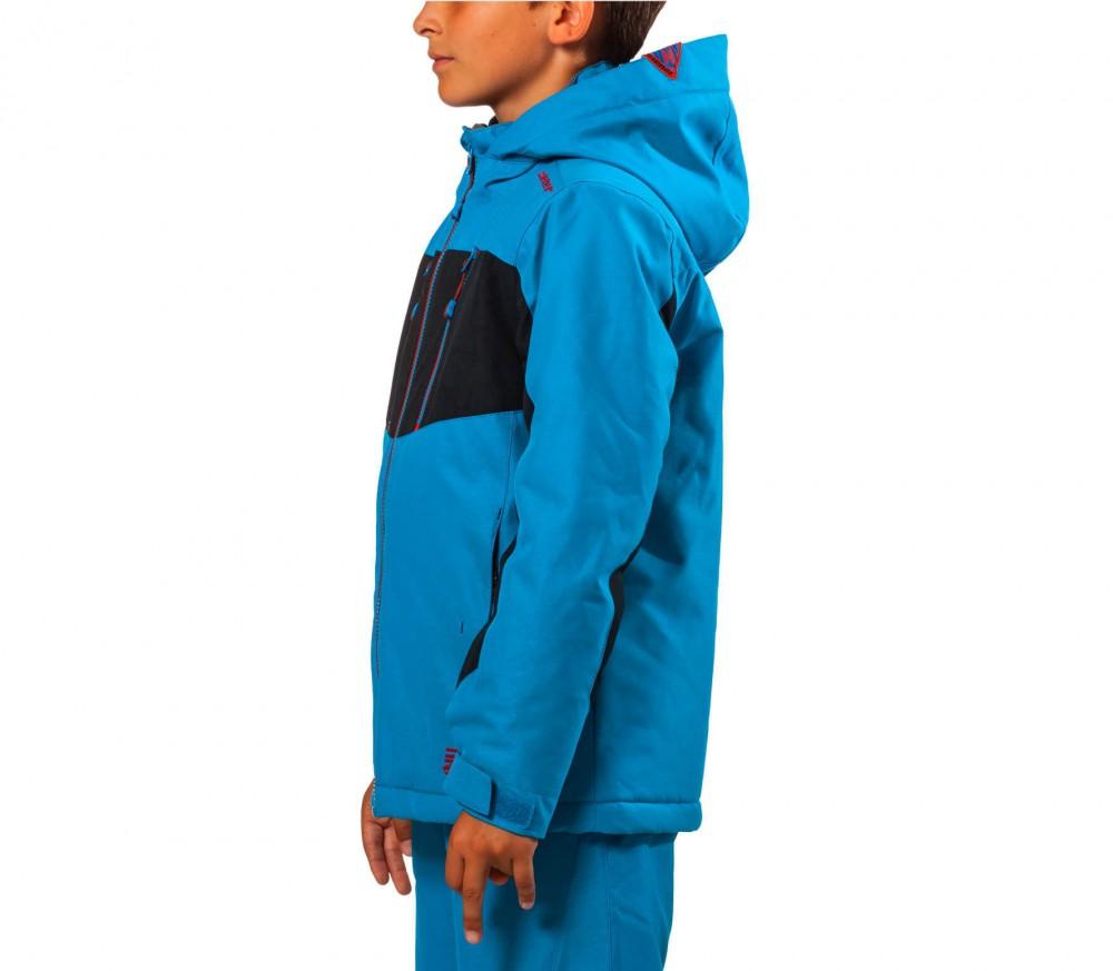 ziener adam enfants manteau de ski turquoise acheter. Black Bedroom Furniture Sets. Home Design Ideas
