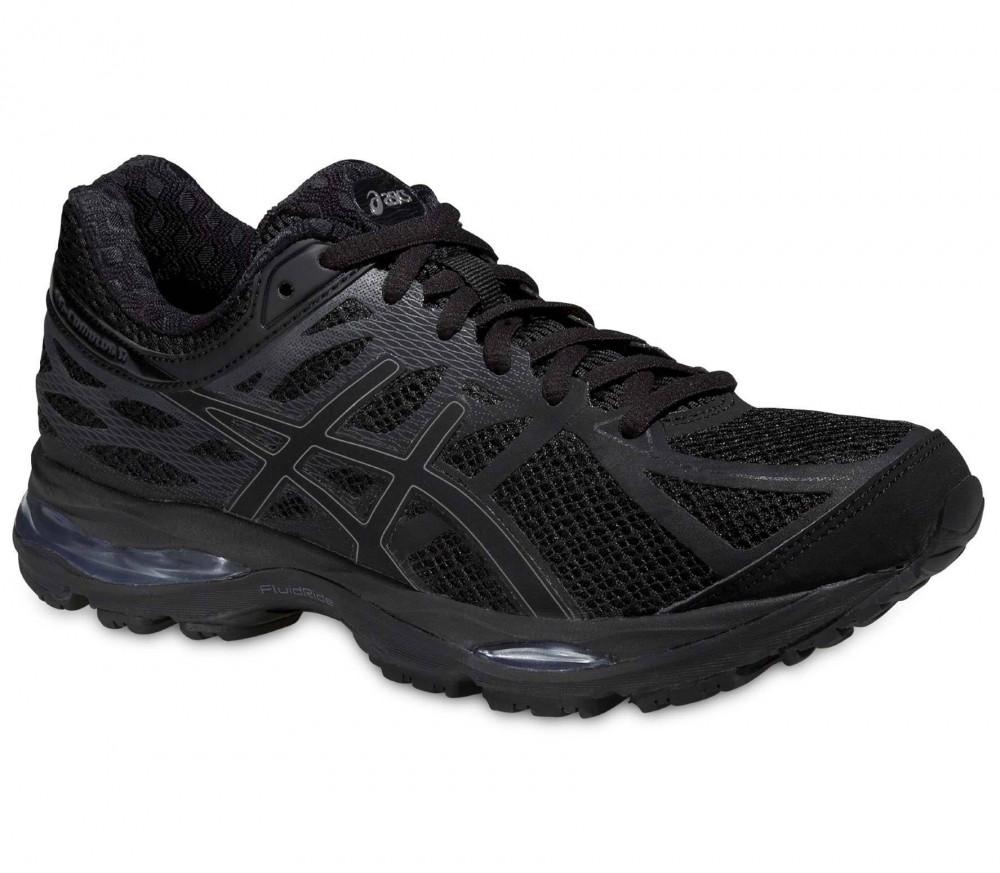 asics gel cumulus 17 chaussures de running femmes noir argent acheter en ligne keller sports. Black Bedroom Furniture Sets. Home Design Ideas