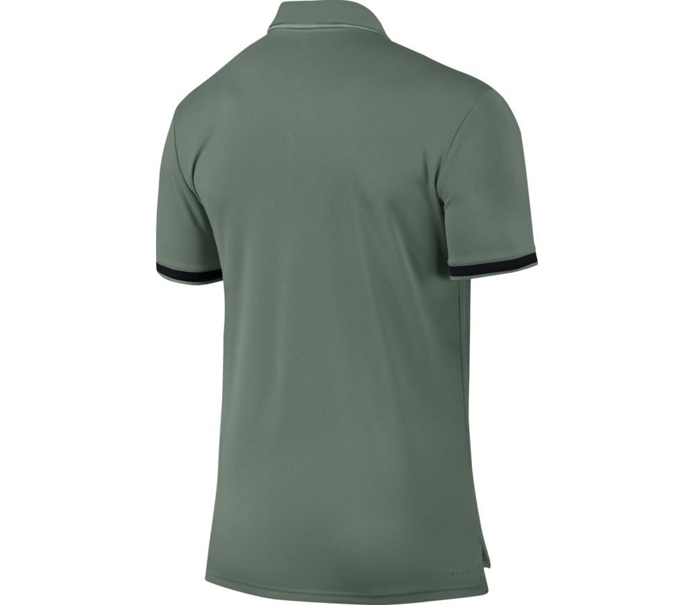 Nike - Court Dry Hommes Tennis Polo (bleu/Orange) - S ssOqKPjXm