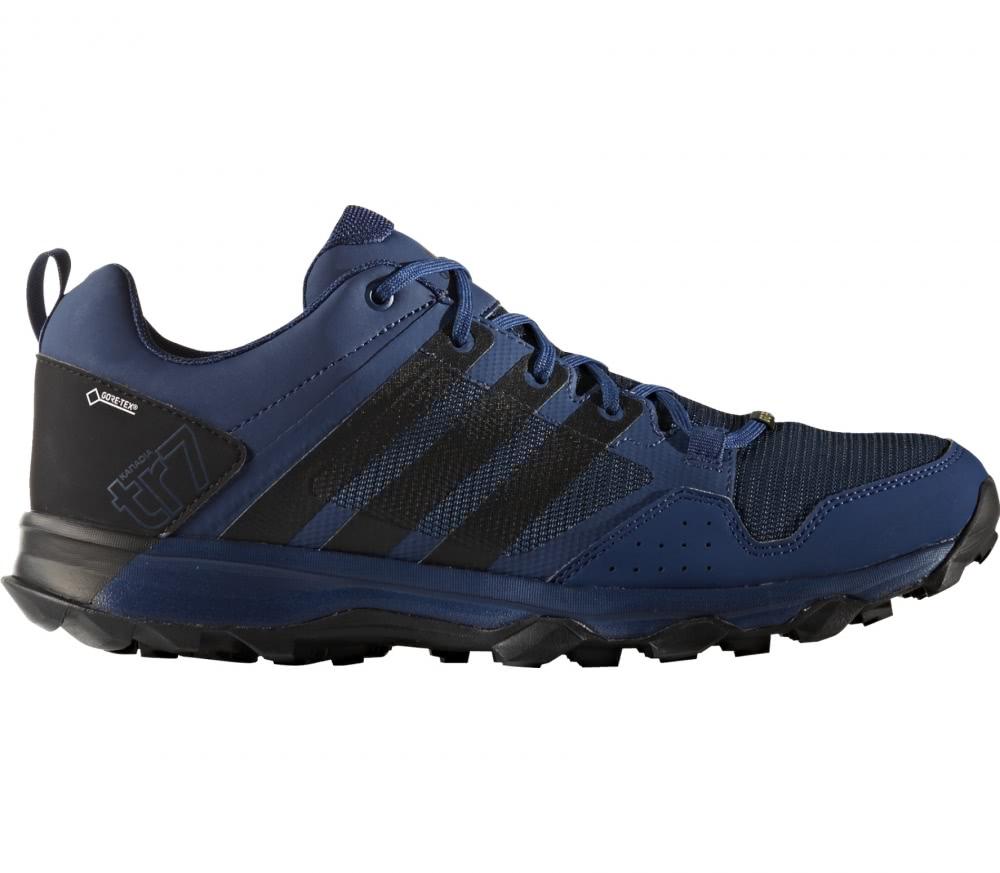 Adidas - Kanadia 7 TR GTX Hommes chaussure de course (bleu foncé/noir)