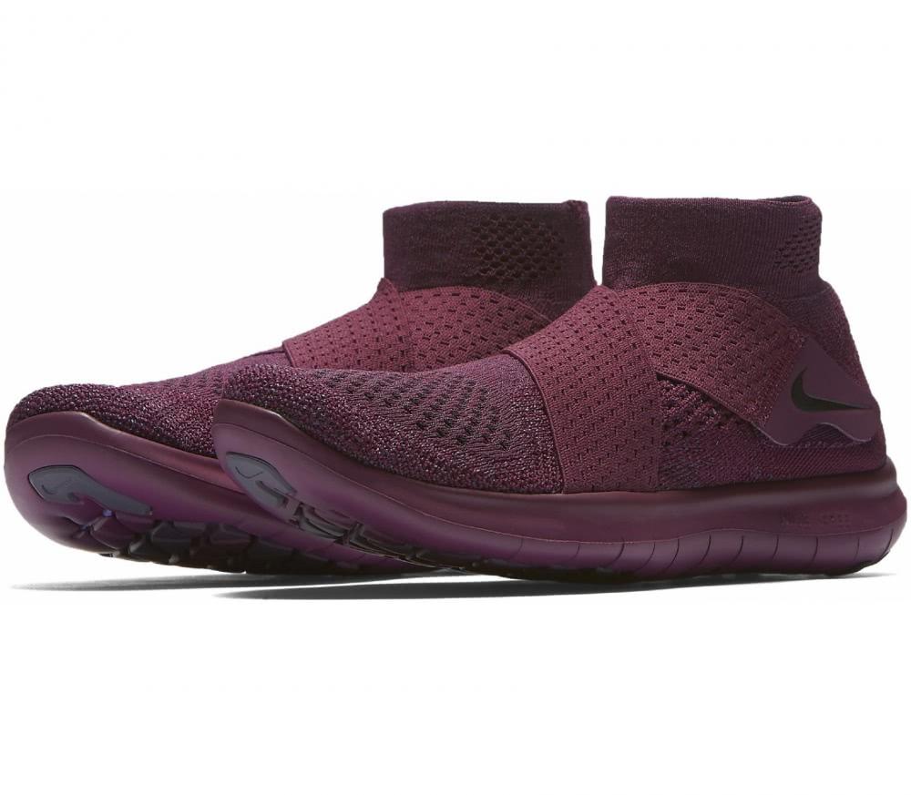 Nike - Free RN Motion Flyknit 2017 Femmes chaussure de course (pourpre)