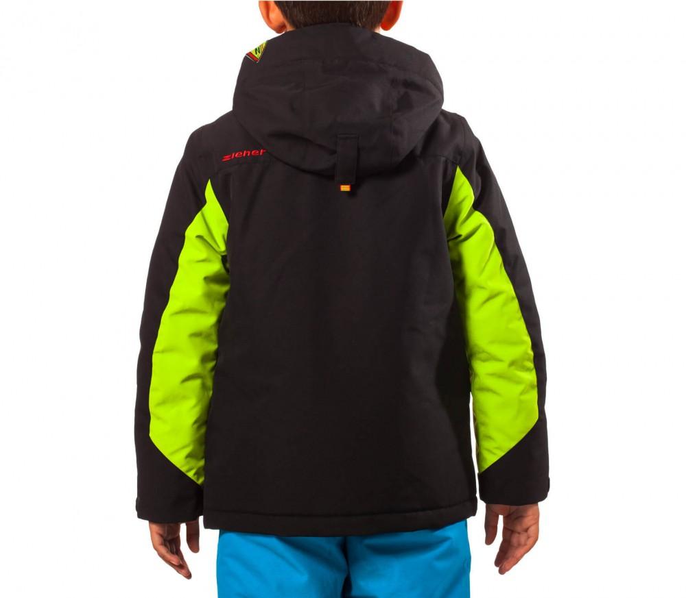 ziener adam enfants manteau de ski vert noir acheter. Black Bedroom Furniture Sets. Home Design Ideas