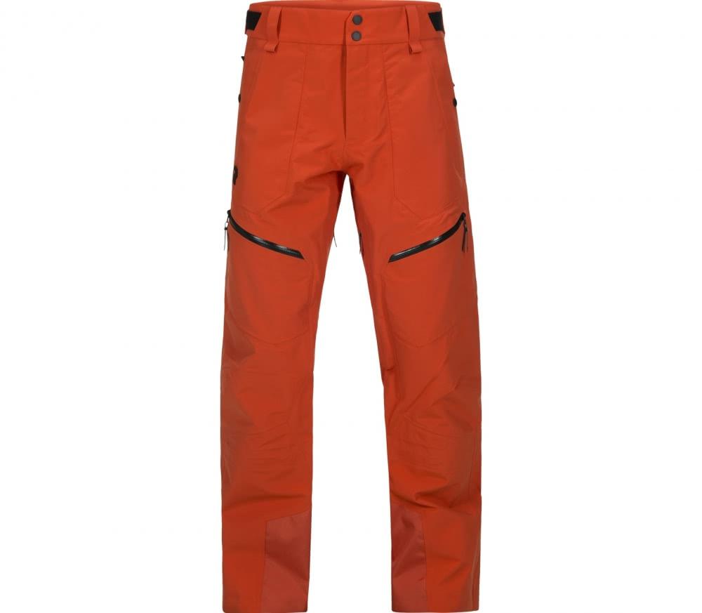 peak performance bec p hommes pantalon de ski orange. Black Bedroom Furniture Sets. Home Design Ideas