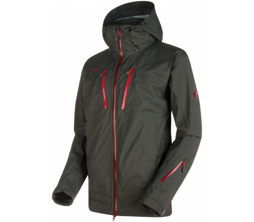 mammut stoney hs hommes manteau de ski gris fonc acheter en ligne keller sports. Black Bedroom Furniture Sets. Home Design Ideas