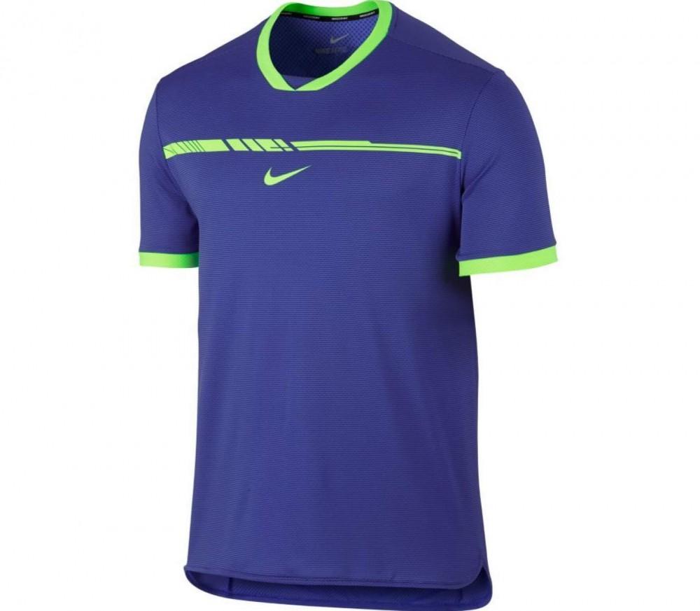 Nike court aeroreact rafa nadal challenger t shirt de for Taille court de tennis