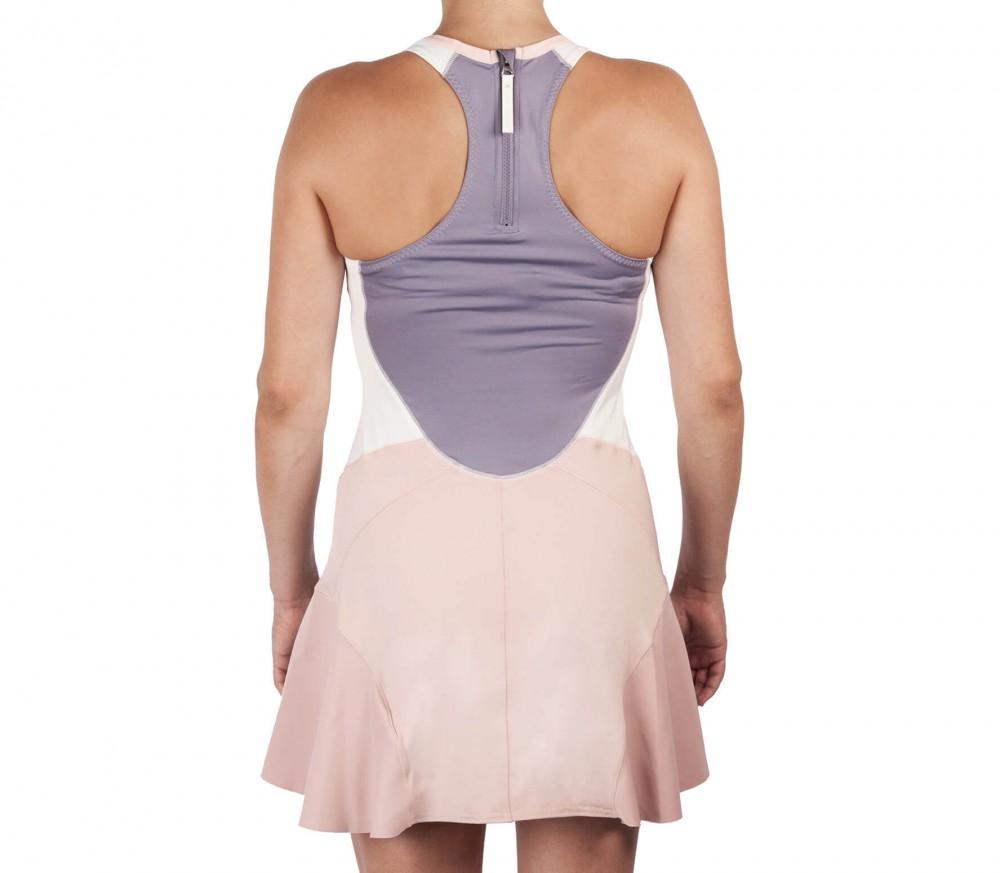 Adidas barricade ny stella mccartney femmes robe de tennis gris blanc acheter en ligne - Robe tennis femme ...