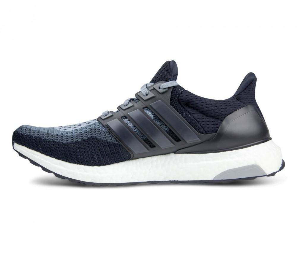 adidas ultra boost hommes chaussure de course noir gris acheter en ligne keller sports. Black Bedroom Furniture Sets. Home Design Ideas