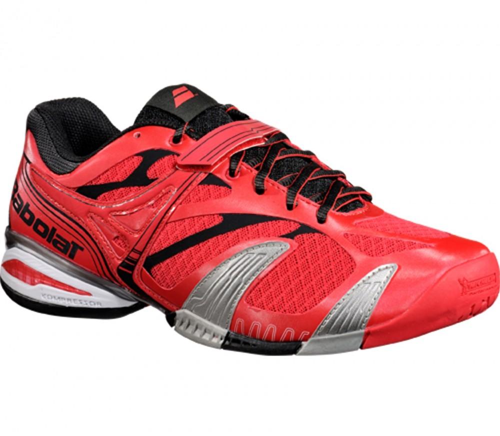 Babolat chaussure de tennis femmes propulse 4 all court for Taille court de tennis