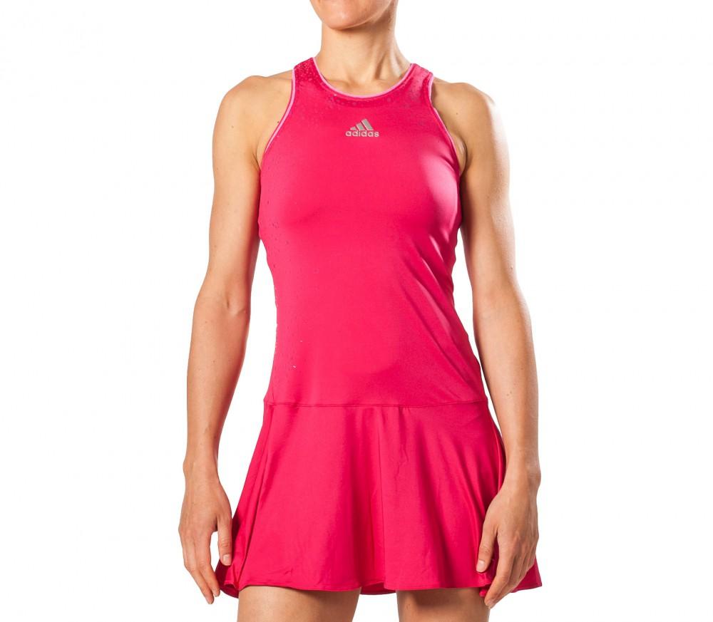 adidas adizero dress femmes robe de tennis rose acheter en ligne keller sports. Black Bedroom Furniture Sets. Home Design Ideas