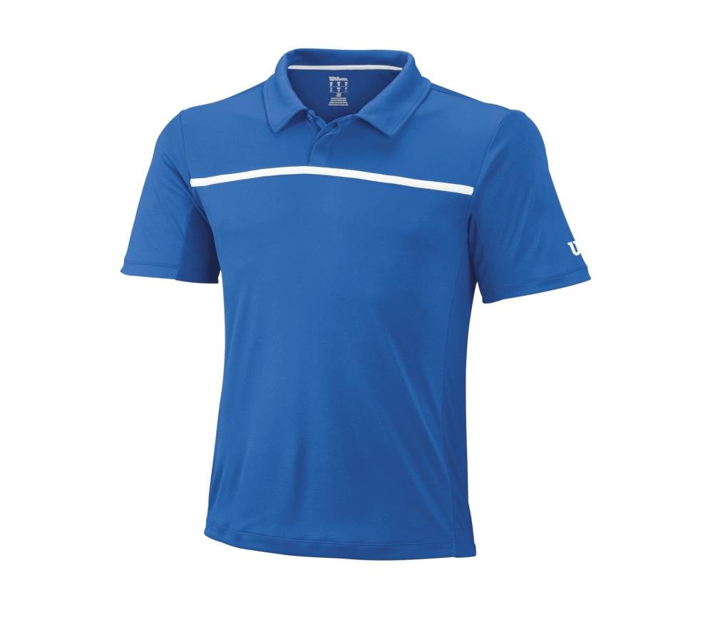 Wilson - Core Hommes Tennis Polo (vert) - S 6CIhIBEFtu