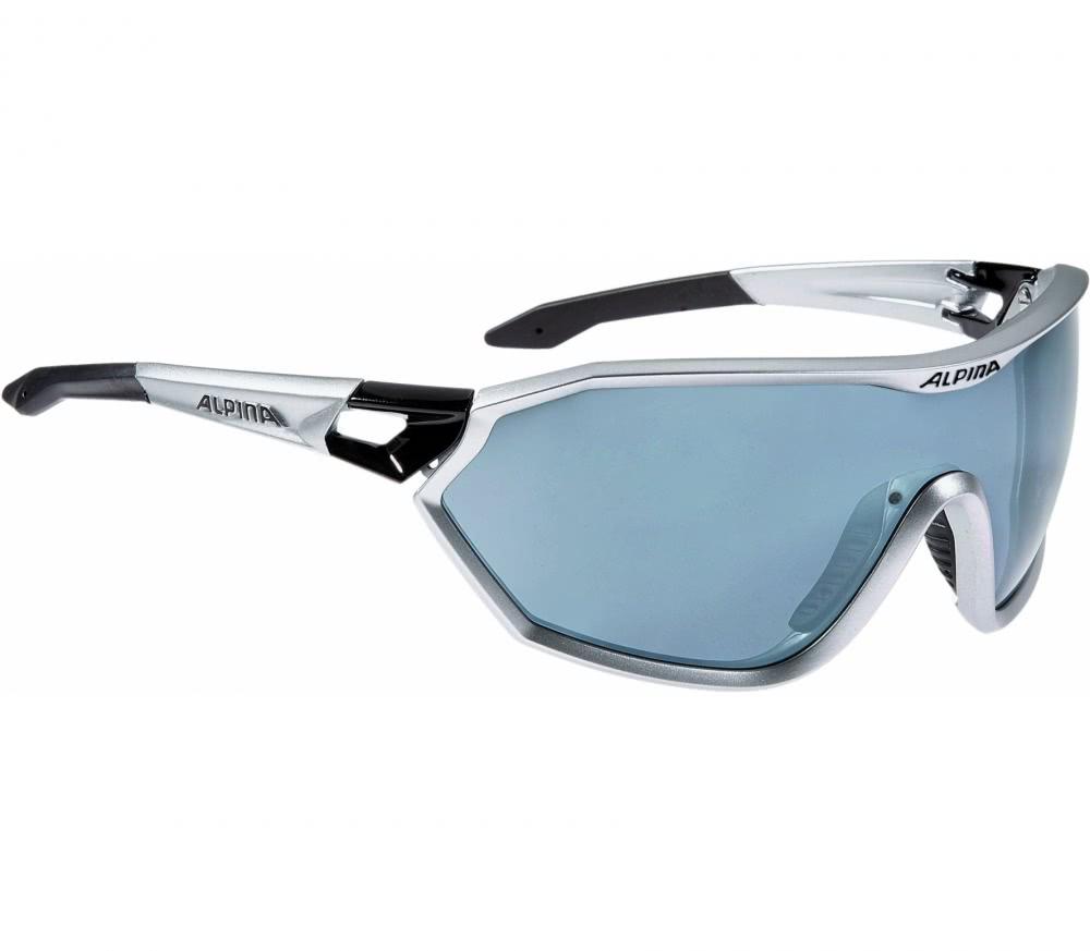 Alpina - S-Way Unisex Lunettes de vélo (blanc/bleu) UMI6iMf2w