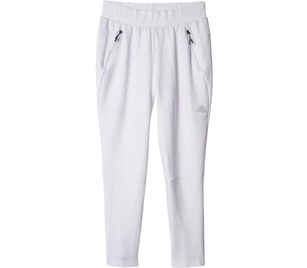 adidas pantalon blanc