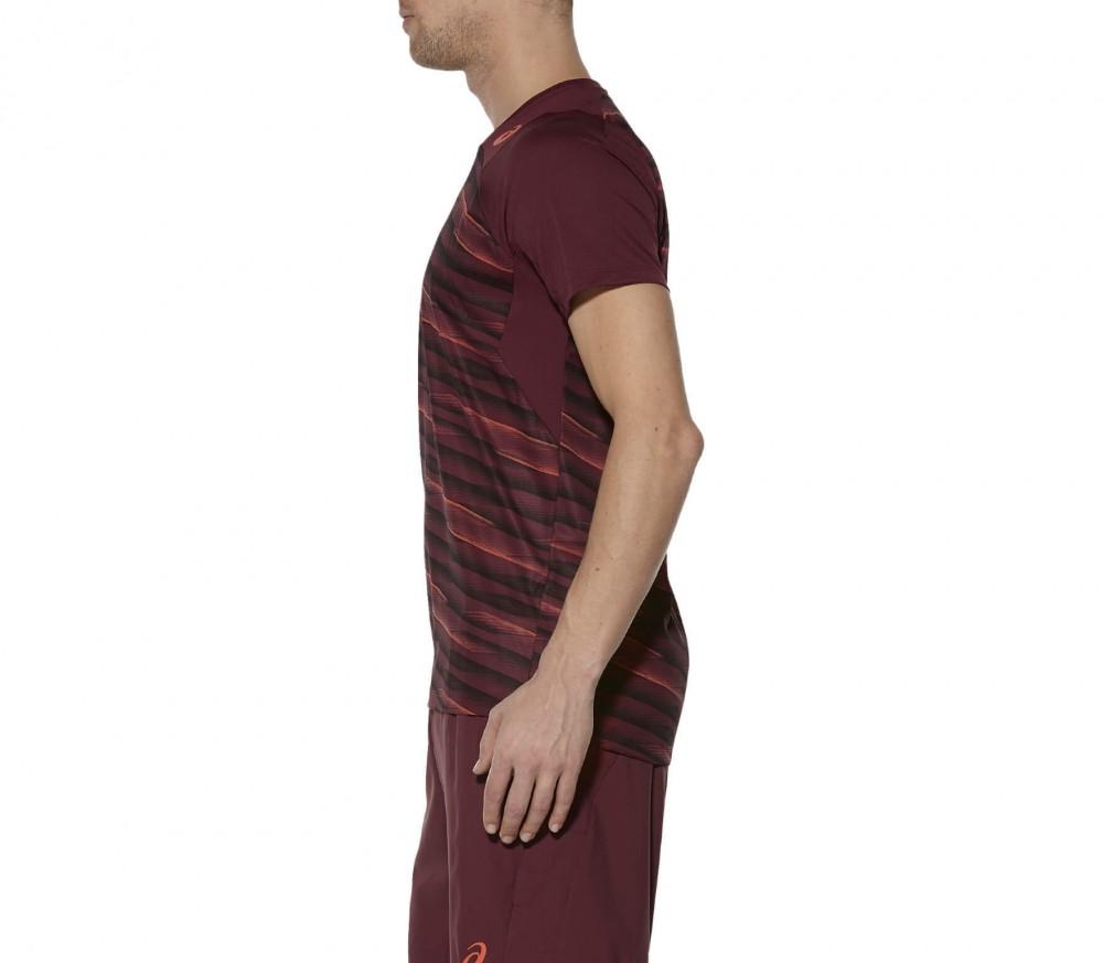 asics t shirt brun