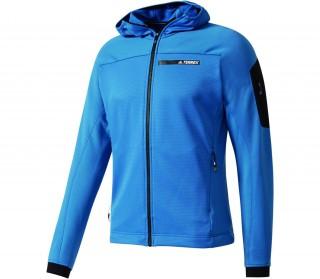 veste adidas bleu turquoise