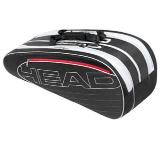 Head - Elite Combi Sac de tennis (noir/blanc)