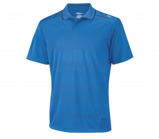Wilson - Polo Specialist Mesh Hommes (bleu)