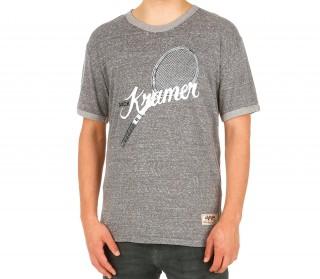 Wilson - T-shirt Crewneck Ringer Hommes (gris)