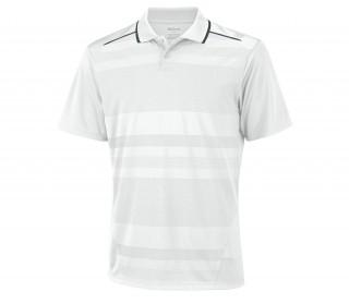 Wilson - Polo Specialist Mesh Hommes (blanc)