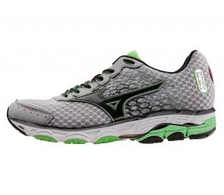 Mizuno - Wave Inspire 11 Chaussure de running Hommes (vert / noir)