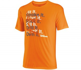 Wilson -T-shirt Win Big Hommes
