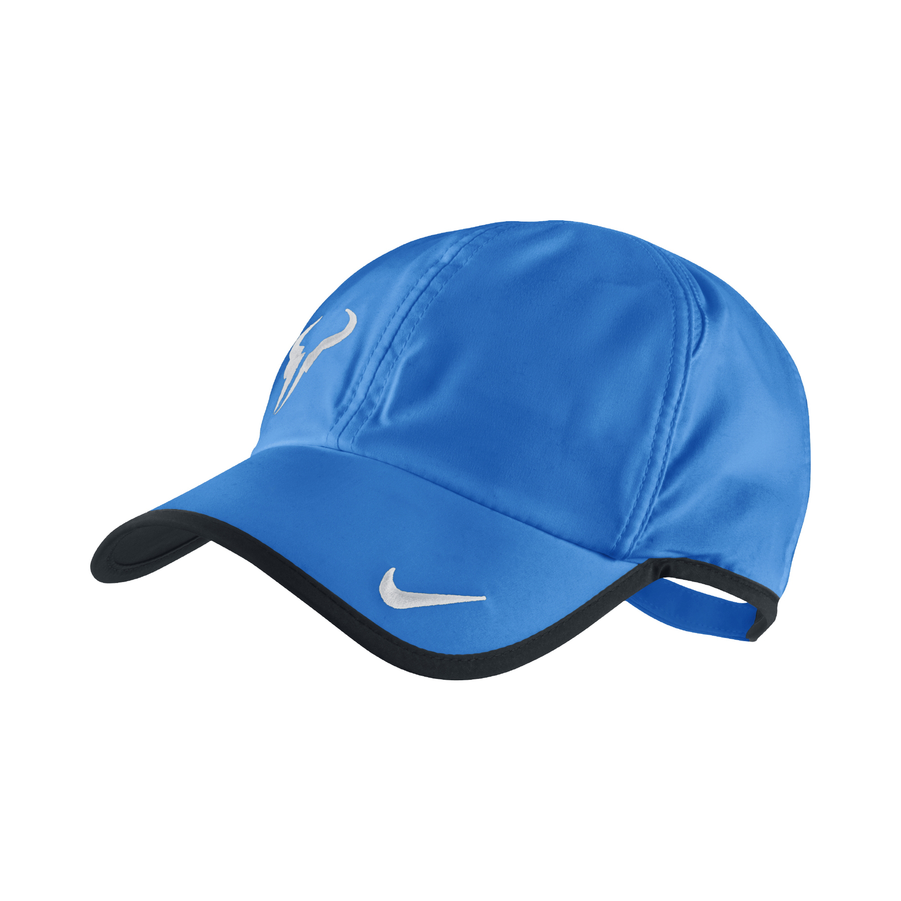 nike rafa nadal bull logo casquette bleu su11 tennis v tements de tennis pas cher. Black Bedroom Furniture Sets. Home Design Ideas